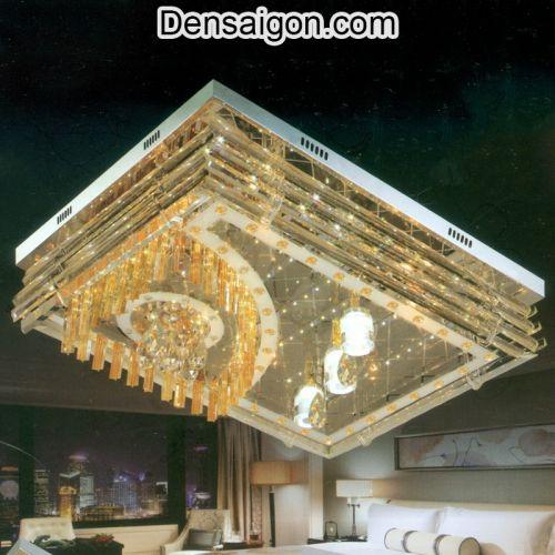 Đèn Áp Trần Pha Lê LED Đẹp Giá Rẻ - Densaigon.com