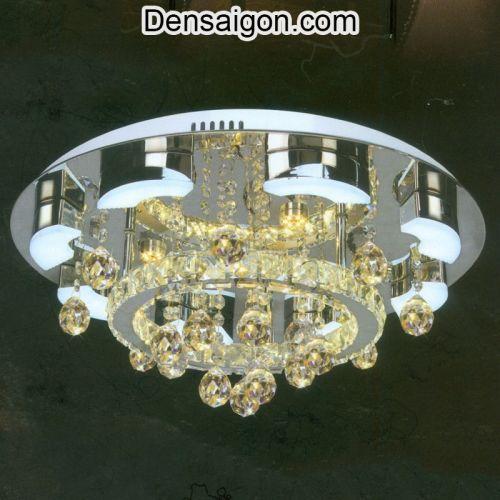 Đèn Chùm LED Pha Lê Đẹp Lung Linh - Densaigon.com