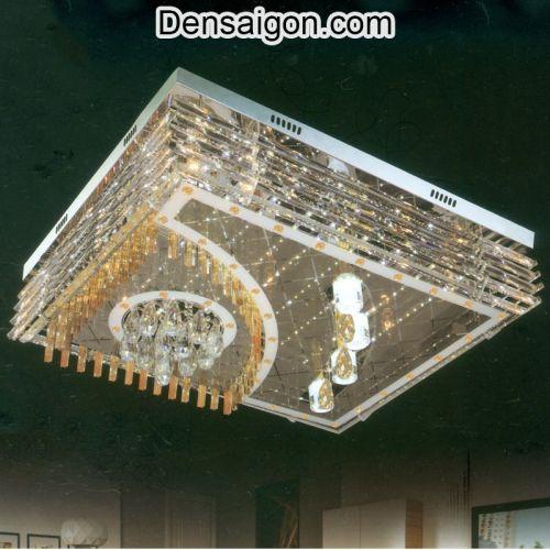 Đèn Áp Trần Pha Lê LED Sang Trọng - Densaigon.com