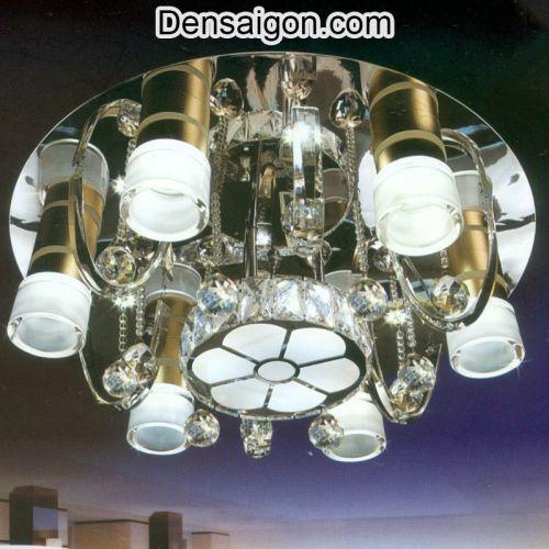 Đèn Chùm Pha Lê LED Sang Trọng Giá Rẻ - Densaigon.com