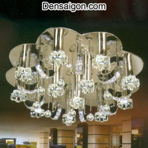 Đèn Chùm Pha Lê LED Thiết Kế Lung Linh - Densaigon.com