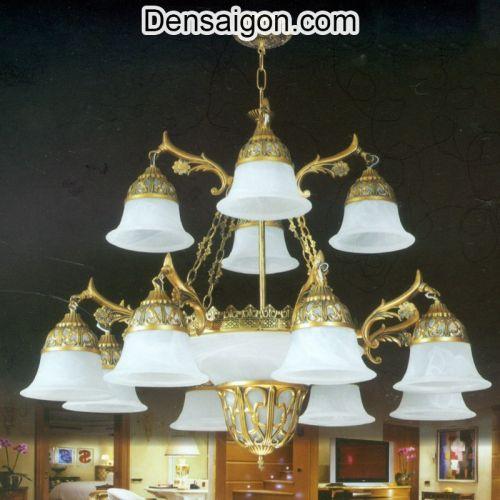 Đèn Chùm Cổ Điển 2 Tầng Giá Rẻ - Densaigon.com