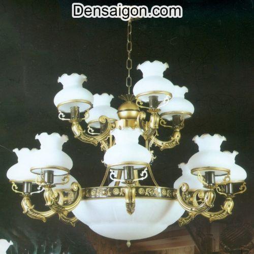 Đèn Chùm Dù Cổ Điển Cao Cấp Giá Rẻ - Densaigon.com