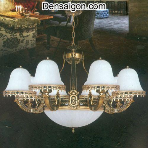 Đèn Chùm Dù Cổ Điển Treo Phòng Khách Đẹp - Densaigon.com