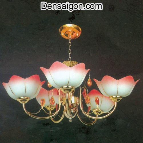 Đèn Chùm Cổ Điển Sắc Đỏ Sang Trọng - Densaigon.com