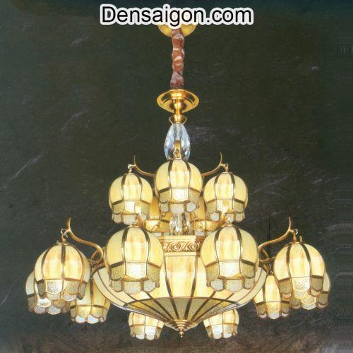 Đèn Chùm Đồng Cổ Điển Đẹp - Densaigon.com