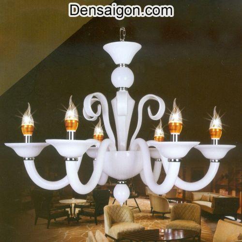 Đèn Chùm Kiểu Ý Đẹp Treo Phòng Khách - Densaigon.com