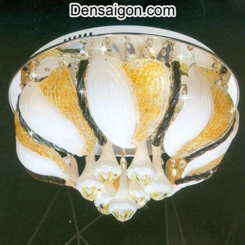 Đèn Chùm LED Pha Lê Đẹp Giá Rẻ - Densaigon.com