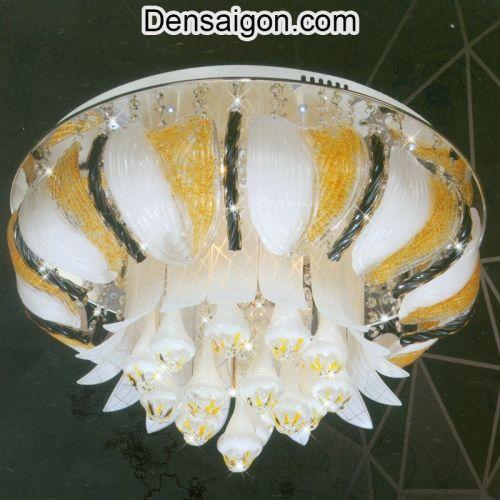Đèn Chùm LED Pha Lê Kiểu Dáng Đẹp - Densaigon.com