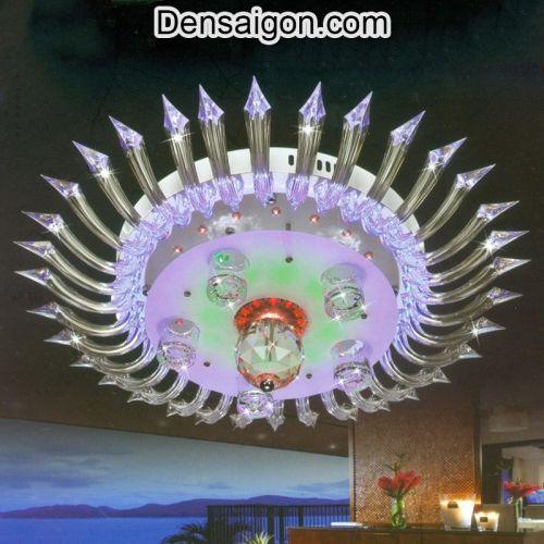Đèn Chùm LED Pha Lê Kiểu Dáng Độc Đáo - Densaigon.com