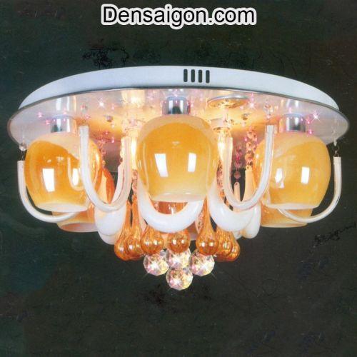 Đèn Chùm LED Pha Lê Kiểu Dáng Sang Trọng - Densaigon.com