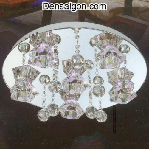 Đèn Chùm LED Pha Lê Kiểu Dáng Trang Nhã - Densaigon.com
