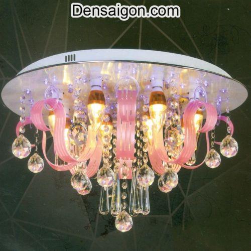 Đèn Chùm LED Pha Lê Phong Cách Trang Nhã - Densaigon.com