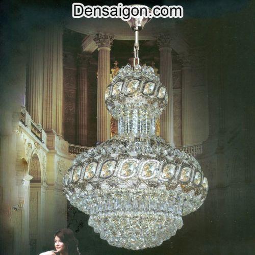 Đèn Chùm LED Pha Lê Sang Trọng - Densaigon.com