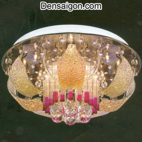 Đèn Chùm LED Pha Lê Thiết Kế Sang Trọng - Densaigon.com