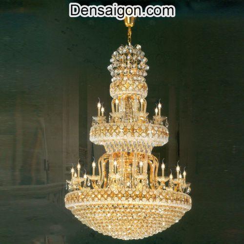 Đèn Chùm Pha Lê LED Sang Trọng - Densaigon.com