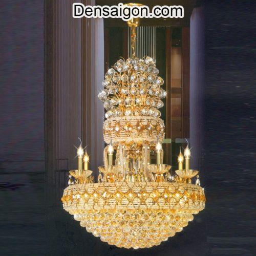 Đèn Chùm Pha Lê LED Thiết Kế Cổ Điển - Densaigon.com