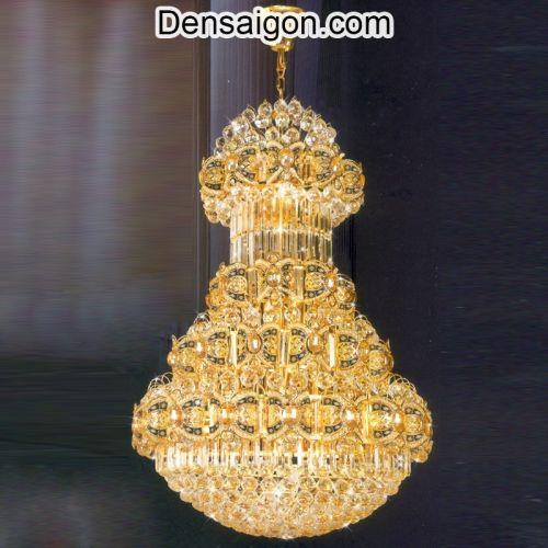 Đèn Chùm Pha Lê LED Trang Trí Nội Thất - Densaigon.com