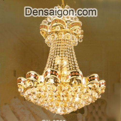 Đèn Chùm Pha Lê Phòng Khách Cỡ Nhỏ - Densaigon.com