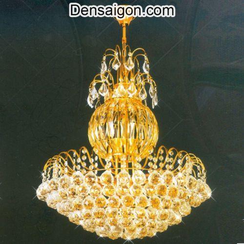 Đèn Chùm Pha Lê Trang Trí Phòng Khách Đẹp - Densaigon.com
