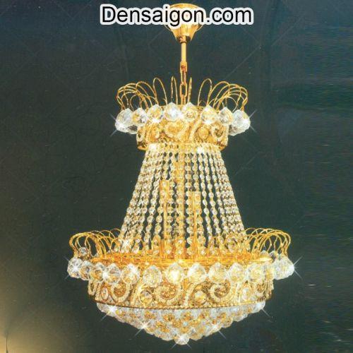 Đèn Chùm Pha Lê Treo Phòng Khách - Densaigon.com