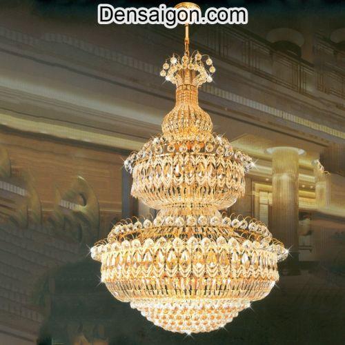 Đèn Chùm Pha Lê Treo Phòng Khách Đẹp - Densaigon.com