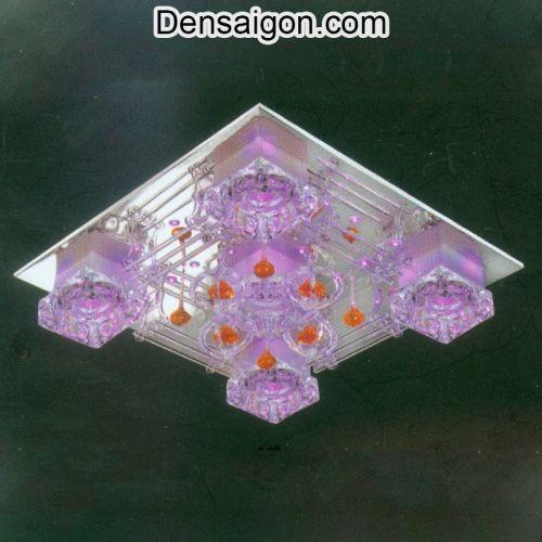 Đèn LED Áp Trần Màu Hồng Đẹp - Densaigon.com