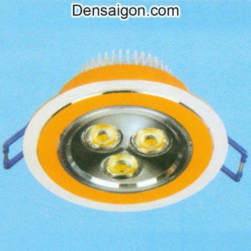 Đèn LED Mắt Trâu Màu Vàng - Densaigon.com