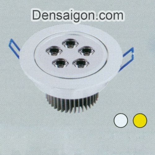 Đèn Lon Âm Trần LED Đẹp Bền Rẻ - Densaigon.com