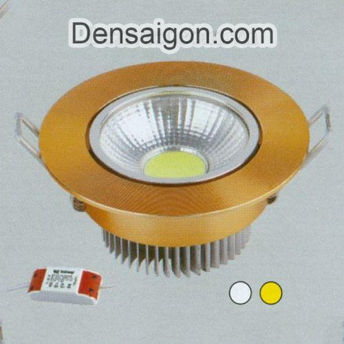 Đèn Lon Âm Trần LED Kiểu Dáng Đơn Giản - Densaigon.com