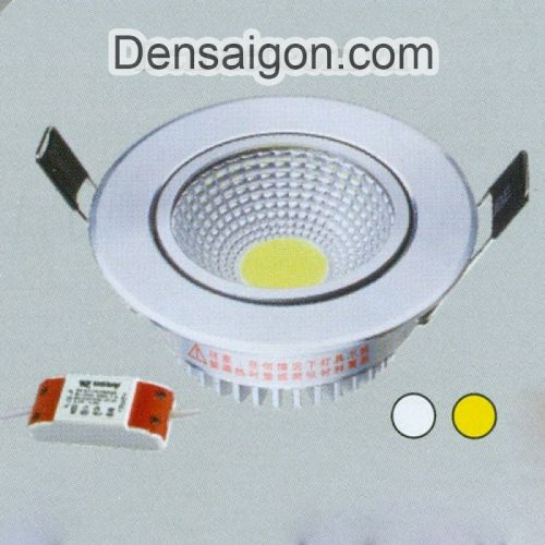 Đèn Lon Âm Trần LED Màu Trắng - Densaigon.com