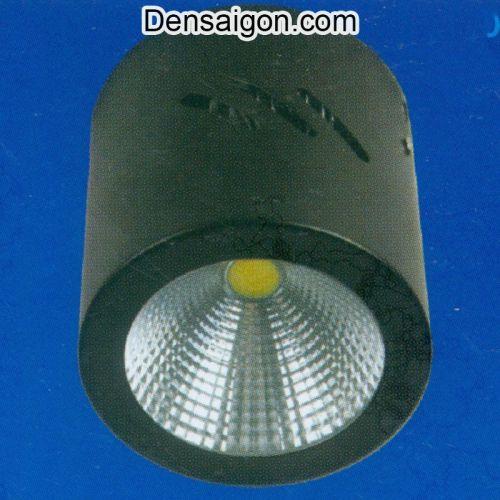 Đèn Lon Nổi LED Màu Đen - Densaigon.com