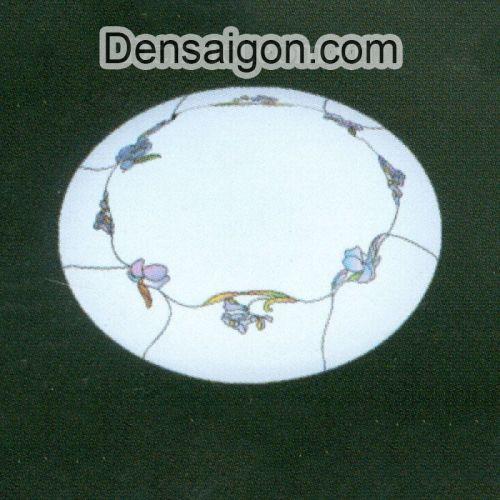 Đèn Mâm Áp Trần Hành Lang Màu Trắng Đẹp - Densaigon.com