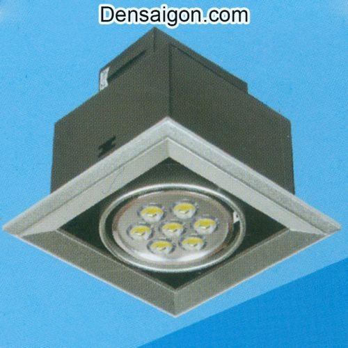 Đèn Mắt Ếch LED Vuông Màu Đen - Densaigon.com