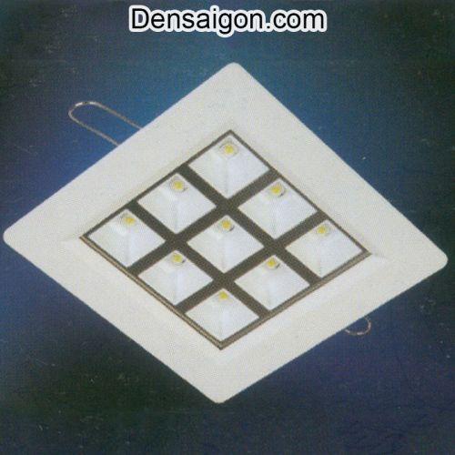 Đèn Mắt Trâu LED Vuông Màu Trắng - Densaigon.com