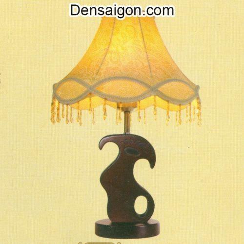 Đèn Ngủ Chụp Dù Cổ Điển Màu Vàng - Densaigon.com
