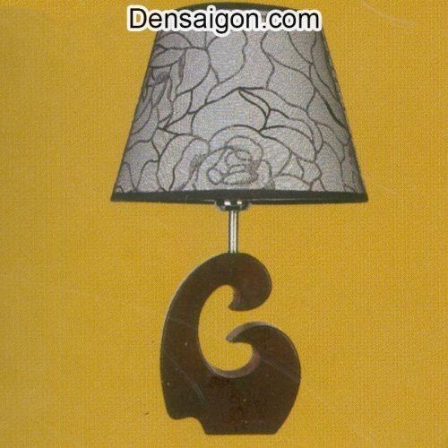 Đèn Ngủ Chụp Dù Họa Tiết Hoa Hồng - Densaigon.com