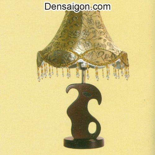Đèn Ngủ Chụp Dù Hoa Văn Tinh Tế - Densaigon.com