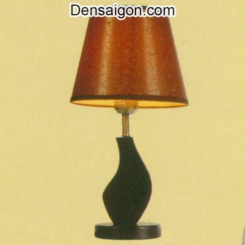 Đèn Ngủ Chụp Dù Màu Nâu Đẹp - Densaigon.com