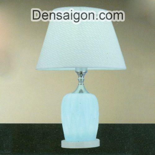 Đèn Ngủ Để Bàn Gỗ Ánh Sáng Dịu - Densaigon.com