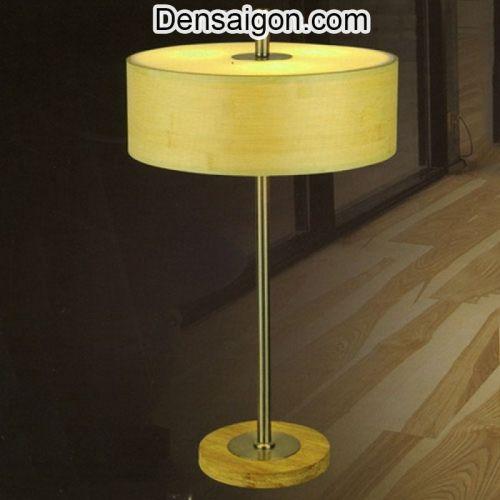 Đèn Ngủ Để Bàn Gỗ Thiết Kế Đơn Giản - Densaigon.com