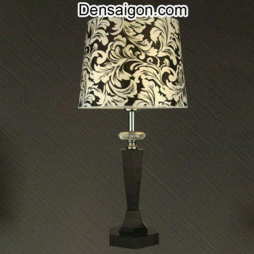 Đèn Ngủ Để Bàn Gỗ Thiết Kế Nổi Bật - Densaigon.com