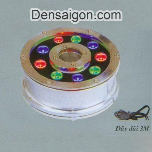Đèn Pha LED Dưới Nước 9W Biến Đổi 3 Màu - Densaigon.com