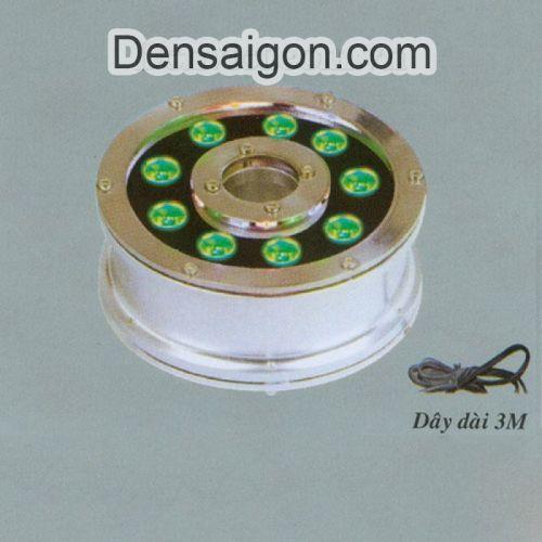Đèn Pha LED Dưới Nước 9W Màu Xanh Lá - Densaigon.com
