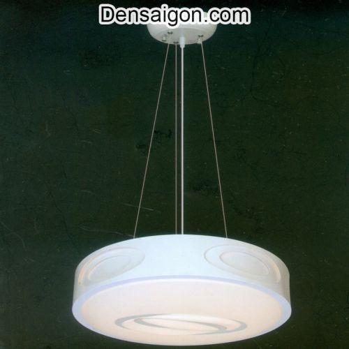Đèn Thả Màu Trắng Hiện Đại Treo Phòng Khách - Densaigon.com