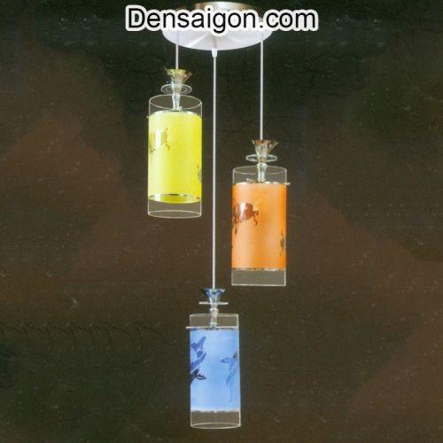 Đèn Thả Pha Lê 3 Màu Giá Rẻ - Densaigon.com