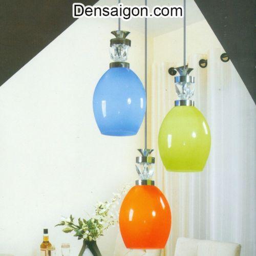 Đèn Thả Pha Lê 3 Màu Hiện Đại - Densaigon.com