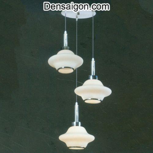 Đèn Thả Pha Lê Hiện Đại Màu Kem - Densaigon.com
