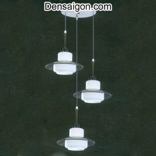 Đèn Thả Pha Lê Hiện Đại Màu Trắng - Densaigon.com