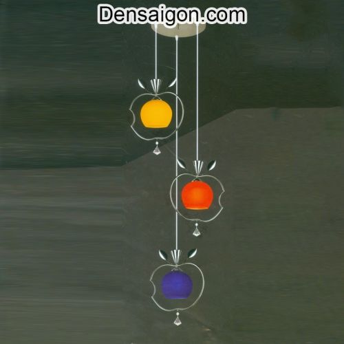Đèn Thả Pha Lê Hình Quả Táo Hiện Đại - Densaigon.com